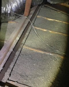 Major Structural Defect in a Roof Void